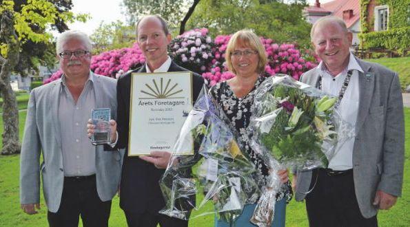 Årets företagare, Ronneby 2013